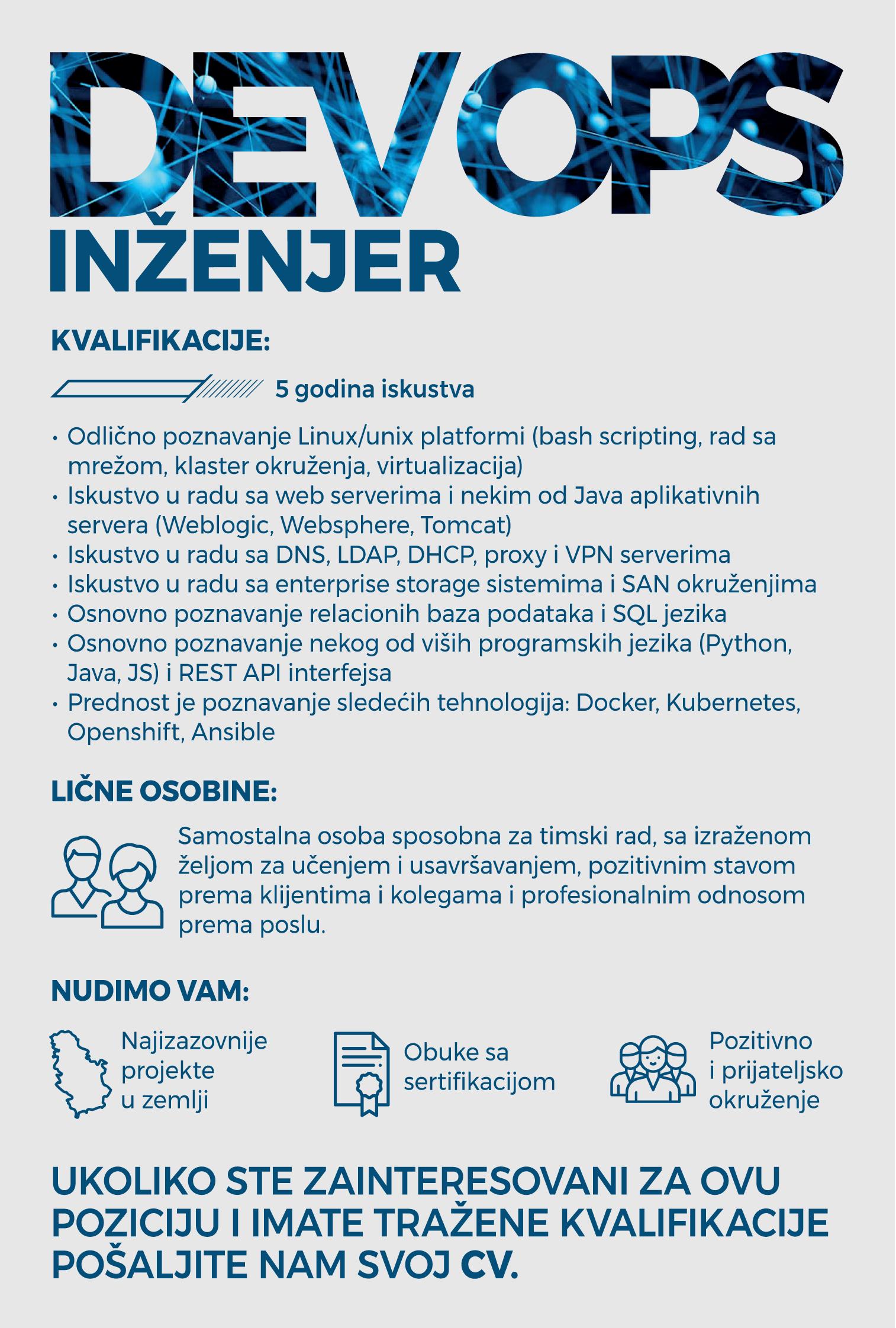 DevOps Inzenjer -1