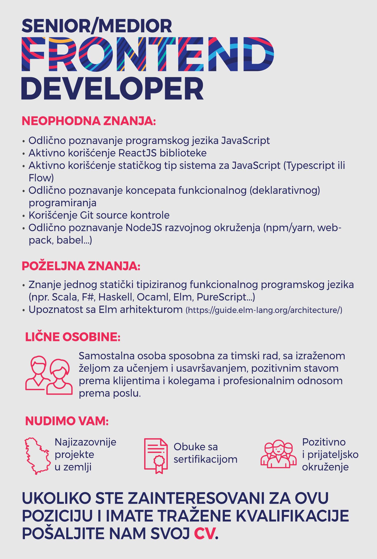 Senior-Medior Frontend programer 2
