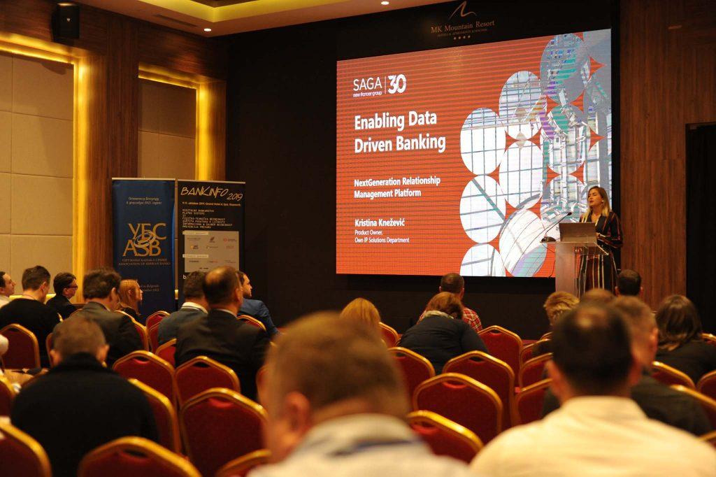 Data driven banking Saga